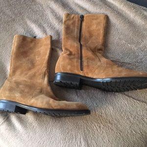 J Crew Suede Boots. (9.5)